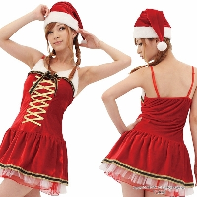 サンタ服でエッチ!クリスマスっぽい下着通販