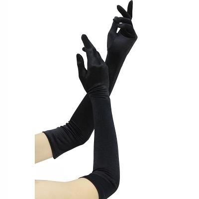 女装用 グローブ (黒)/女装 手袋