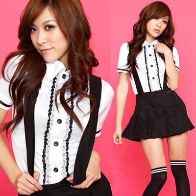 肩紐付ミニスカートの制服・アイドル 衣装 通販