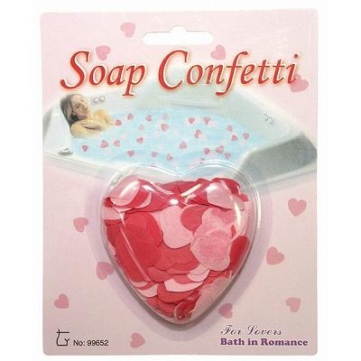 ローション風呂の素(入浴剤) | ハートソープコンフェティ