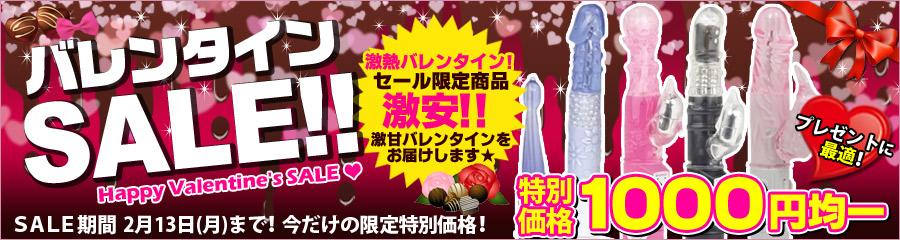 バレンタインSALE!!激熱バレンタイン!セール限定商品激安!!激甘バレンタインをお届けします★特別価格1,000円均一!プレゼントに最適!